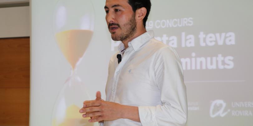 Álvaro Javier Cruz Carrión, doctorand del programa de Nutrició i Metabolisme de la URV